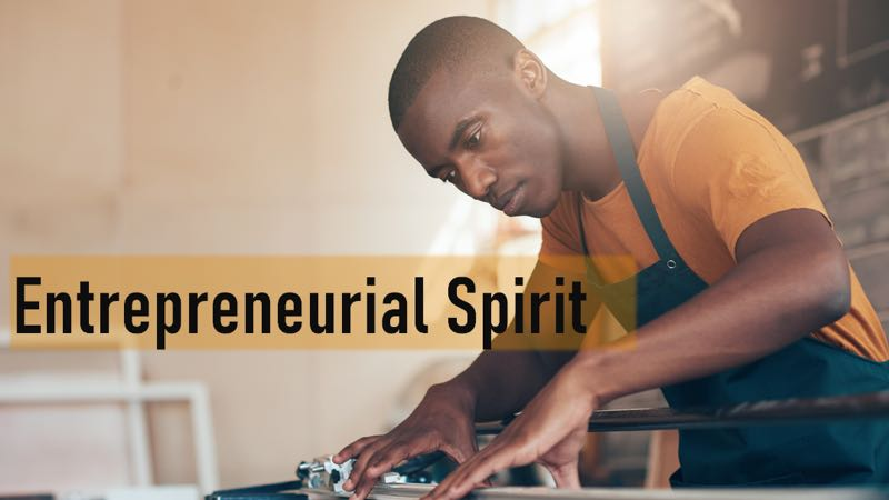 What is and What Could Be: The Entrepreneurial Spirit